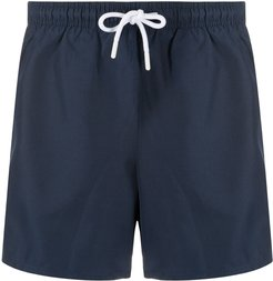 logo swim shorts - Blue