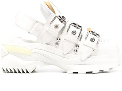 slingback low-top sneakers - White