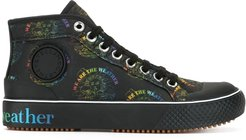 We Are The Weather high-top sneakers - Black