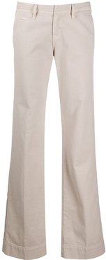 Ross flared trousers - Neutrals