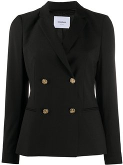 double-breasted jacket - Black