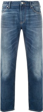 mid-rise loose-fit jeans - Blue