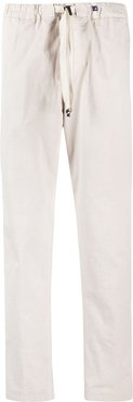 drawstring jetted pocket trousers - Neutrals