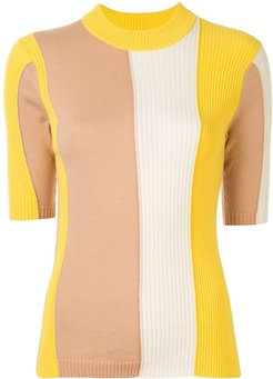 Biscotti Chromatic ribbed top - Multicolour