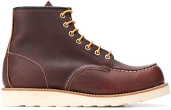 Classic Moc lace-up boots - Brown