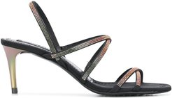 Xarenia strappy sandals - Black