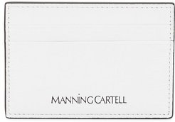 logo stamp card holder - White