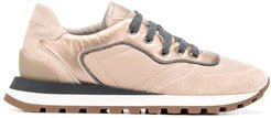 contrast-panel low top trainers - Neutrals