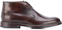 lace-up desert boot - Brown