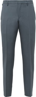tapered tailored trousers - Grey