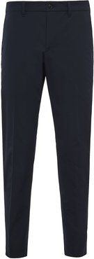 slim-fit tailored trousers - Blue