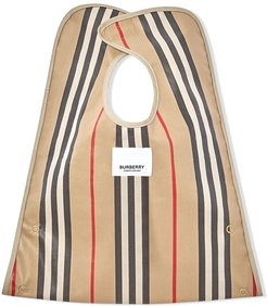 check stripe bib - NEUTRALS