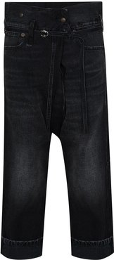 Staley cropped jeans - Black