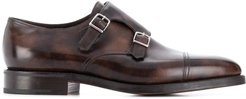 William monk shoes - Brown