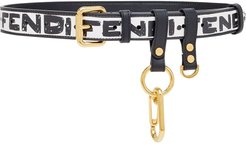 x Joshua Vides multi-accessorised belt - White