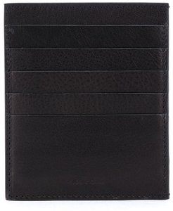 logo embossed cardholder - Black