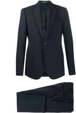 tailored two-piece suit - Blue