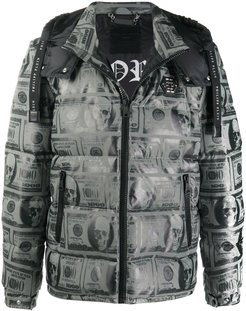 Dollar padded jacket - Grey