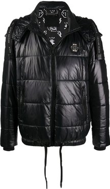 Institutional padded jacket - Black