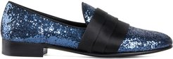 Patrick sequin loafers - Blue