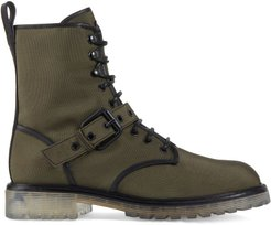 Argo lace-up boots - Green