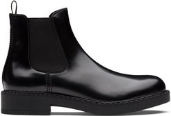 brushed Chelsea boots - Black