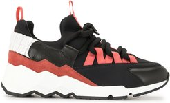 lace-up trainers - Black