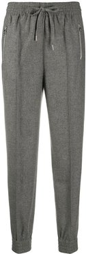 suiting track pants - Grey