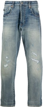 Morry 3D relaxed tapered jeans - Blue