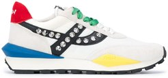 Spider Stud Combo low-top sneakers - White