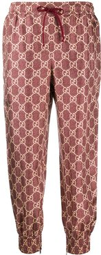 GG Supreme canvas track pants - Red