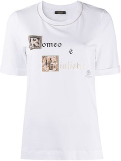 graphic-print relaxed-fit T-shirt - White