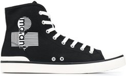 Benkeenh high-top sneakers - Black