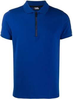 short sleeve polo shirt - Blue
