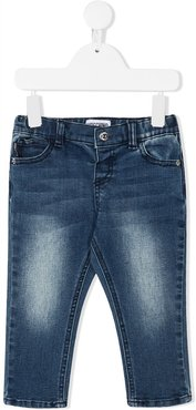 light-wash skinny jeans - Blue