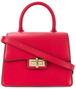 Jojo leather shoulder bag - Red