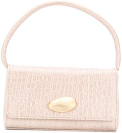 Baguette Mini leather bag - NEUTRALS