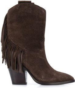 Emotion cowboy boots - Brown