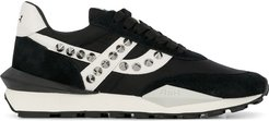 Spider Stud low-top trainers - Black