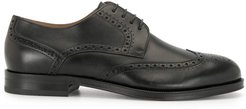 lace-up brogues - Black