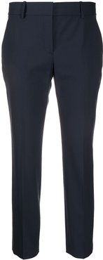 cropped tailored trousers - Blue