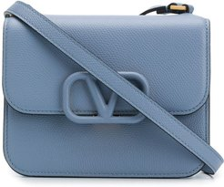 VSLING logo shoulder bag - Blue