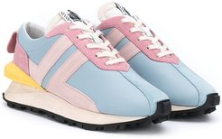 TEEN colour-block trainers - Blue