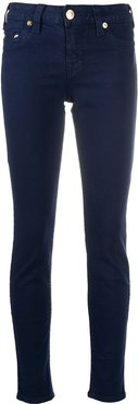 skinny fit mid-rise jeans - Blue