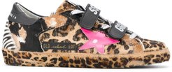 animal-print Old School sneakers - Brown