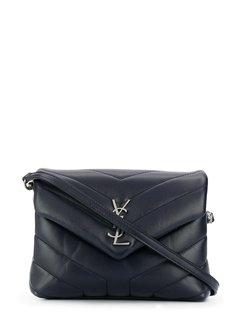 Loulou quilted toy bag - Blue