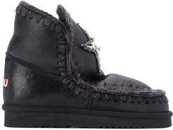 ankle snow boots - Black