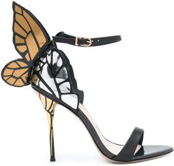 Faw butterfly sandals - Black