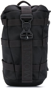 single shoulder strap backpack - Black