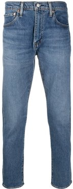 mid-rise slim fit jeans - Blue